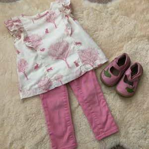 Two piece Baby Gap 18-24 month girls outfit